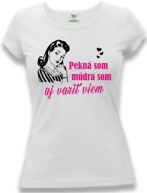 6a1ce60618e0 Tričko pre ženy - Pekná som