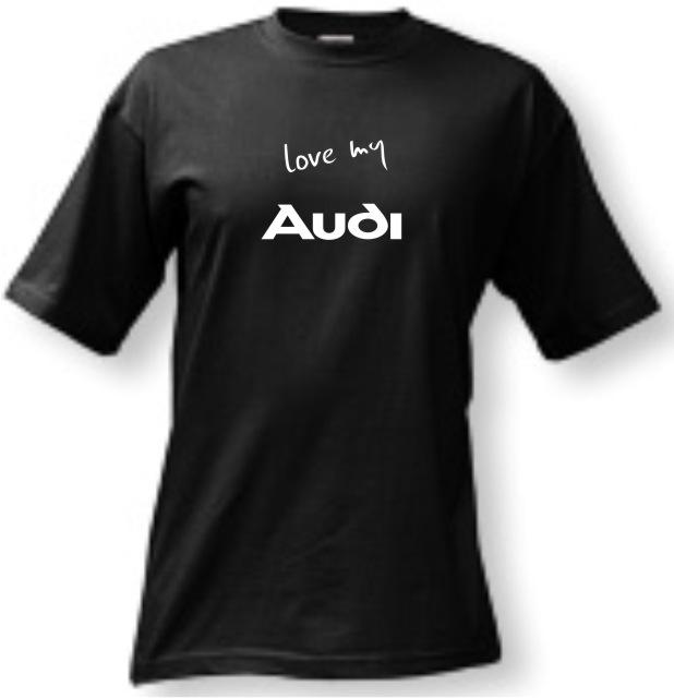 8914f396a81 Tričko - Love my Audi