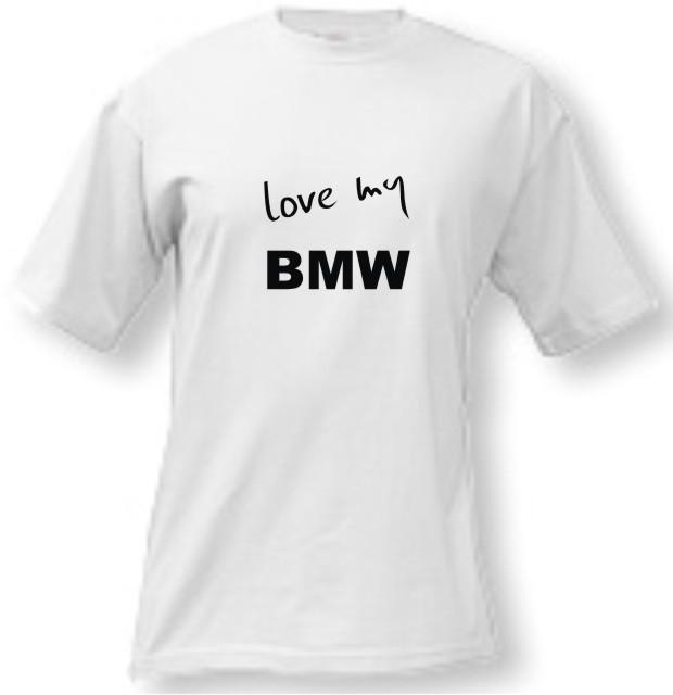 364971c87752 Tričko - Love my BMW