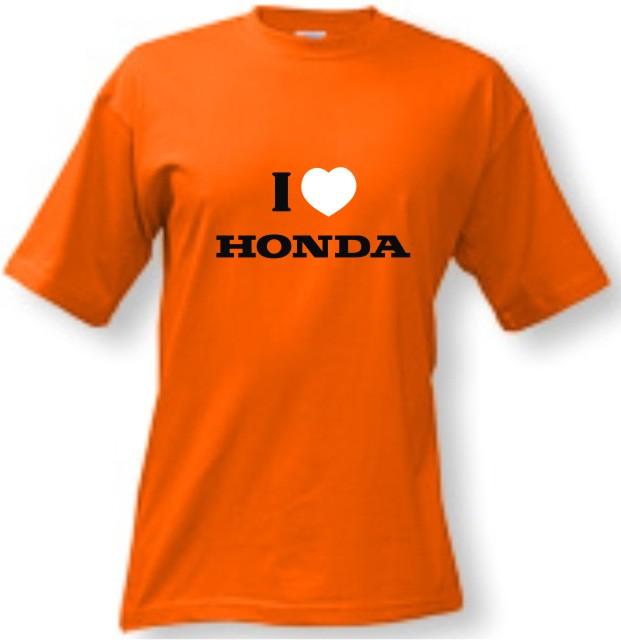 7f6122a0f381 Tričko - I love HONDA