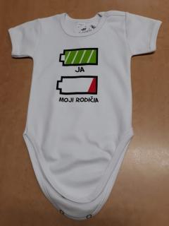 3294df78e18b Body pre bábätko - Baterka - veľkosť 80