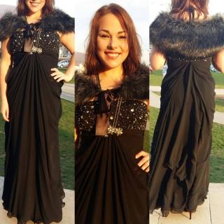 Spoločenské šaty - veľ. L XL eeeeec3c130